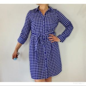 Motherhood maternity button front shirt dress
